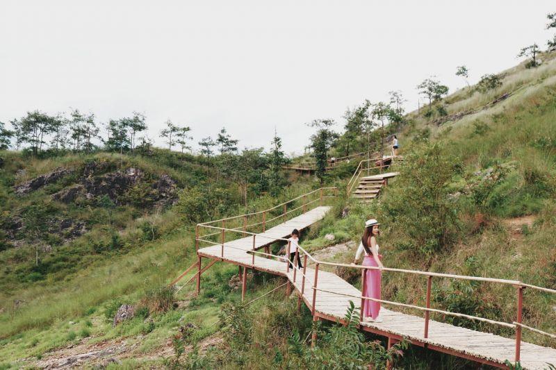 มีสะพานศึกษาธรรมชาติความยาว 150 เมตร