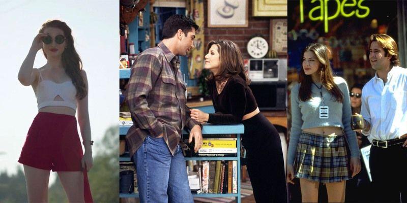 เสื้อครอป (Crop Tops) สำหรับสาวๆ ที่อยากโชว์เอวเอสต้องใส่เสื้อครอปเลย จะจับคู่กับกางเกงหรือกระโปรงก็ดูสวยได้ไม่แพ้กัน อย่างเรเชล จาก Friends ที่แมตช์เสื้อครอปแขนยาวเข้ากับกางเกงขายาว ดูมิดชิดแต่ก็แอบเผยผิวได้แบบเนียนๆ หรือคอรีย์ เมสัน จาก แหล่งจ๊าบก๊วนแจม (Empire Records) ที่จับมาใส่คู่กับกระโปรงลายสก็อต ได้ลุคสาวมัธยมที่ทั้งเท่และร่าเริง ปัจจุบันแฟชั่นเสื้อครอปก็ยังไม่ได้หายไปไหน แต่ได้ถูกปรับเปลี่ยนมาให้มีความหลากหลายยิ่งขึ้นเหมือนเสื้อครอปสายเดี่ยวที่เชอรีล บลอสซั่มจาก ริเวอร์เดล (Riverdale) ใส่คู่กับกระโปรงสีประจำตัวของเธอพร้อมคอมพลีทลุคด้วยแว่นกันแดด เซ็กซี่กันจนปรอทแตกไปเลย
