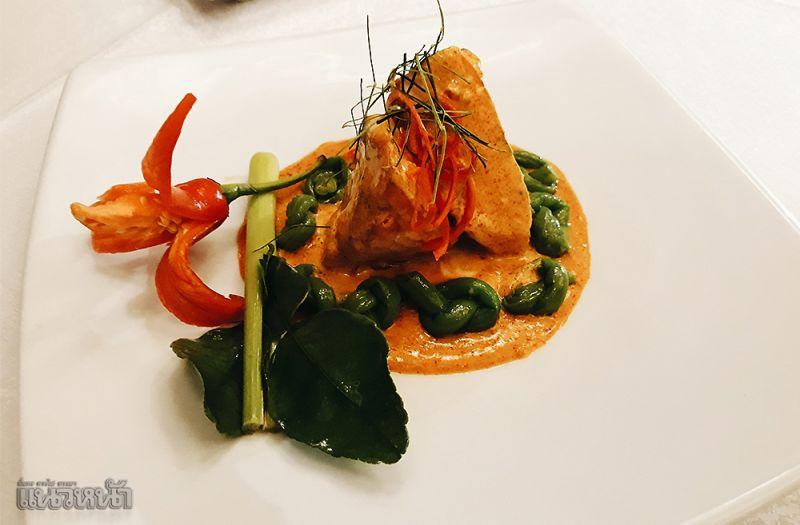 Chu-chee Pla salmon