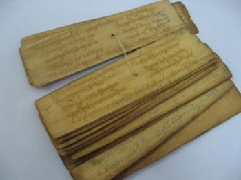 คัมภีร์ใบลานในประเทศไทย ความสำคัญที่มีต่อพุทธศาสนศึกษา