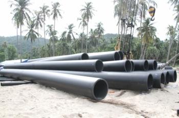 กปภ.สร้างท่อส่งน้ำลอดใต้ทะเล สุดปลื้มใหญ่-ยาวมากที่สุดในโลก