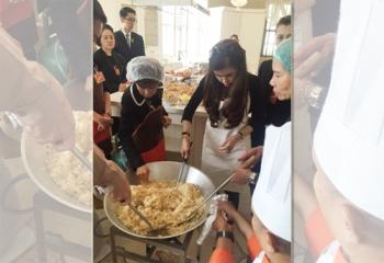 ปลื้มปีติ!\'ฟ้าหญิงฯ\'ทรงเข้าครัว ประกอบอาหารเมนูข้าวผัดญี่ปุ่น พระราชทานแก่พสกนิกร