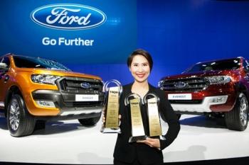 \'ฟอร์ด\'ผงาดมอเตอร์เอ็กซ์โป2016 คว้า3รางวัลธุรกิจยานยนต์ยอดนิยม