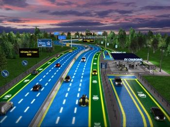 เชลล์ เผยนวัตกรรมสำหรับถนนใน 30 ปีข้างหน้า