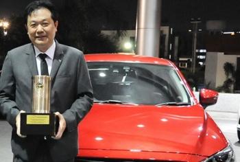 Mazda CX-3 คว้ารางวัล  รถยอดเยี่ยม ประจำปี 2016