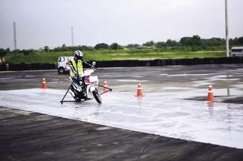 บ๊อช สาธิตเทคโนโลยีช่วยชีวิต สำหรับรถจักรยานยนต์