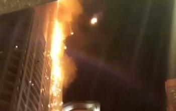 เพลิงไหม้ตึกสูงนครดูไบ คาดต้นเหตุก้นบุหรี่-ไร้เจ็บตาย (ชมคลิป)