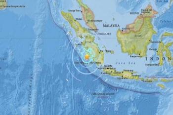 แผ่นดินไหว6.4เขย่า'สุมาตรา' แรงสั่นสะเทือนถึงสิงคโปร์