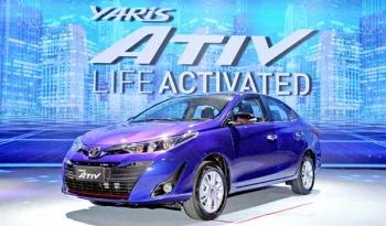 โตโยต้า เปิดตัว ยารีสใหม่!! 'Yaris ATIV'