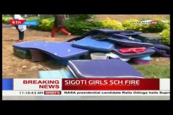 สังเวย 7 ศพ เหตุเพลิงไหม้หอพักนักเรียนหญิงเคนยา