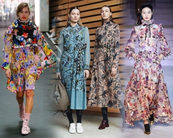 In trend With KIMMY : FALL 2017 FLORALS WINTER