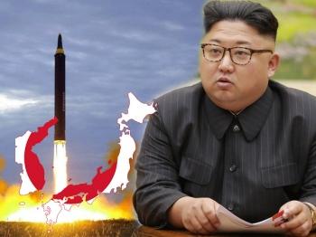 \'ญี่ปุ่น\'ผวาทั้งเมือง \'โสมแดง\'เย้ยโลกยิงขีปนาวุธข้ามเกาะ