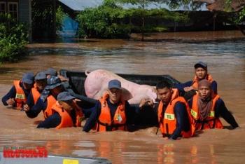 คสช.ขอหน่วยงานพื้นที่ เกาะติดช่วยน้ำท่วมชาวบ้าน