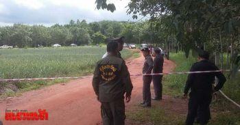 หนุ่มถูกยิงขมับตายกลางสวนสับปะรด คาดถูกลวงมาฆ่าทิ้ง
