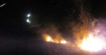 โจรใต้ป่วนเมือง เผายางรถกลางถนนปัตตานี2จุด