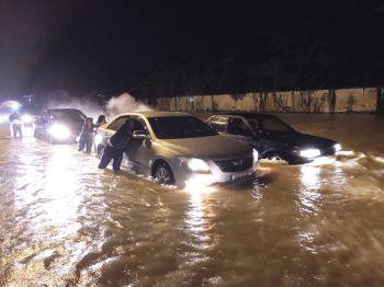 ท่วม'นบพิตำ'เมืองคอน  ฤทธิ์น้ำป่าเขาหลวง  ฝนกระหน่ำหนัก