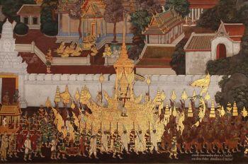 \'ราชรถ ราชยาน\'ในพระราชพิธีถวายพระเพลิงพระบรมศพ