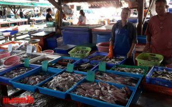 แม่ค้าขายอาหารทะเลบ่นอุบกินเจกระทบยอดขาย เผยผักสดราคาแพงลิ่ว