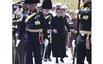 พระเทพฯเสด็จ  ซ้อมใหญ่ริ้วขบวน  พระบรมศพ'ในหลวงร.9'