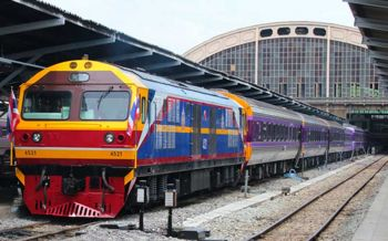 การรถไฟฯแจ้งประชาชน ลงสถานียมราชต่อรถเข้าสนามหลวง