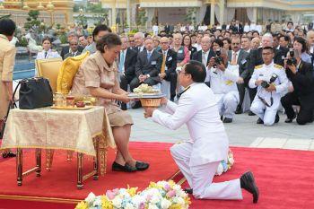สมเด็จพระเทพฯทรงเปิดนิทรรศการงานพระราชพิธี