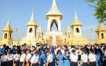 2วันยอด4หมื่น ชมนิทรรศการพระเมรุมาศ ปชช.ขานรับจัดระเบียบ