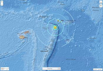 แผ่นดินไหว6.8เขย่า\'หมู่เกาะตองกา\'