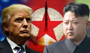 \'ทรัมป์\'ขู่\'คิม\'อย่าคิดท้าทายสหรัฐ ระหว่างเยือน\'เกาหลีใต้\'