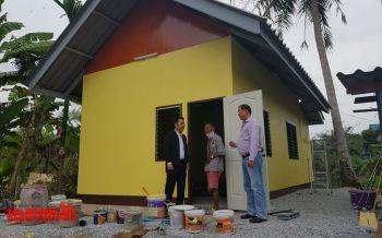 คืบ99%! บ้านกาชาดร่วมใจช่วยเหลือผู้ยากไร้บางละมุง
