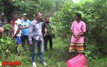 ทำแผนหนุ่มเมียนมาโหด ฆ่าเมียคนไทยยัดถังดำหมกสวนยาง