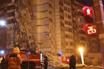 ตึก9ชั้นถล่มใน\'รัสเซีย\' เสียชีวิต3ราย-คาดสาเหตุแก๊สระเบิด (ชมคลิป)