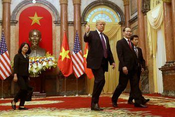 เวียดนาม-สหรัฐลงนาม ข้อตกลงการค้าชุดใหญ่ช่วงทรัมป์เยือน