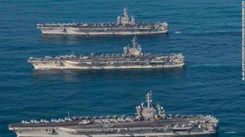 \'โสมแดง\'ฉุนเรือรบสหรัฐ3ลำประชิด เตือนสงครามนิวเคลียร์อาจเกิดได้ทุกเมื่อ