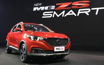 เอ็มจีเผยโฉม\'NEW MG ZS\'เคาะราคาเริ่มต้น6.79แสน