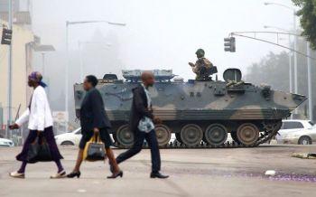 'ซิมบับเว'ระอุ ทหารจับ'ปธน.มูกาเบ' บุกยึดเมือง-ปัดปฏิวัติ