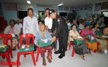 กองทัพบกลุยแจกผ้าห่มสู้ภัยหนาว ให้ผู้สูงอายุหมู่บ้านชายแดนกัมพูชา