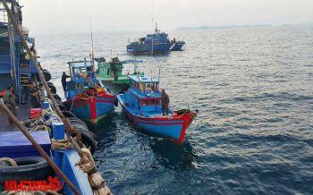 เร่งค้นหาลูกเรือเวียดนาม โดดลงทะเลหนีหนีจับกุมรุกล้ำน่านน้ำไทย