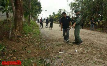 โจรใต้ป่วนลอบบึ้มสุไหงปาดี ทหารรอดตาย-ชนวนลัดวงจรระเบิดทำงานก่อนเวลา
