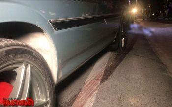 โชเฟอร์แท็กซี่เดินข้ามถนนถูกรถตู้ชนลากศพไกลกว่า30ม.ดับสยองคาที่