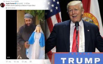 วิจารณ์หนัก!\'ทรัมป์\'รีทวิตคลิปรุนแรง จากกลุ่มต่อต้านมุสลิม