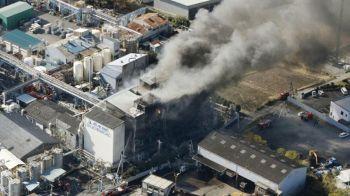 ระเบิด-เพลิงไหม้โรงงานเคมีญี่ปุ่น บาดเจ็บ14คน-สั่งอพยพในรัศมี1กม.