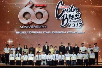 ทีม'Automotive SU'จากศิลปากร คว้ารางวัลชนะเลิศนักออกแบบรถอีซูซุในฝัน