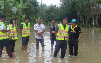 เร่งสำรวจ-ซ่อมแซมถนนตรังถูกน้ำท่วมพัง 8 สายทาง