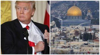 ตะวันออกกลางระอุ!  \'ทรัมป์\'รับ\'เยรูซาเลม\'เป็นเมืองหลวง\'อิสราเอล\'