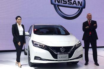 นิสสัน เปิดตัว ลีฟใหม่ รถยนต์พลังงานไฟฟ้า