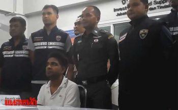 ตม.รวบหนุ่มอินเดียแก๊งค์เรียกค่าไถ่ หนีหมายจับคาด่านขาเข้าโก-ลก