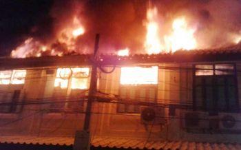 ไฟไหม้ห้องแถวแพร่งนรา สถาปัตยกรรมสมัยร.5