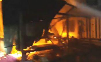 ระทึกไฟไหม้บ้านไม้ คุณยาย73ปีป่วยติดเตียงถูกไฟคลอกดับ