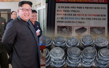 คิมเล่นไม่ซื่อ? \'เกาหลีใต้\'พบระเบิดนับร้อยลูก เชื่อ\'โสมแดง\'ปล่อยลอยทะเลขึ้นหาด