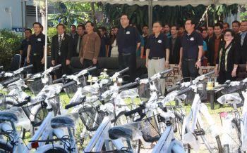 สภาอุตฯมอบจักรยานยืมเรียน7พันคัน สู่โรงเรียนขาดแคลนเชียงราย